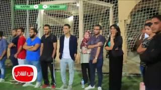 بالفيديو.. «مباراة خماسية» بين أحمد فهمي وشقيقه كريم بحضور جمهور «معكم»