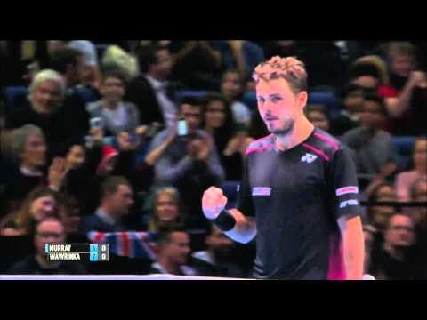 Andy Murray (0) vs (2) Stan Wawrinka - Barclays ATP World Tour