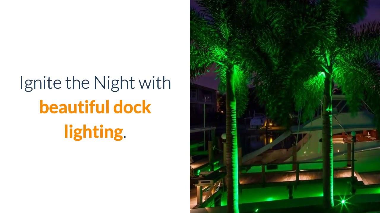 Apollo Dock Landscape Lighting Boca Raton