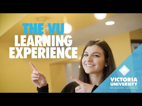 The Victoria University Learning Experience