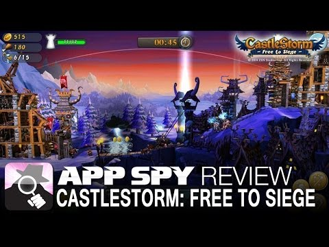 CastleStorm - Free to Siege | iOS iPhone / iPad Gameplay Review - AppSpy.com
