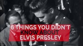 Six things you didn't know about Elvis Presley