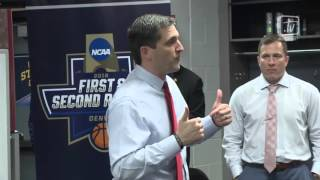 Iowa State Men's Basketball Locker Room After First Round Win vs Iona
