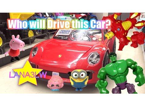 Best Popular Kids Red Porsche 911 GT3 Turbo Ride On Electric Car - Lana3LW