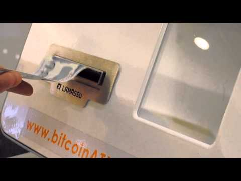 Bitcoin Vending Machine (Bitcoin ATM) in Singapore (Asia's first public bitcoin machine)