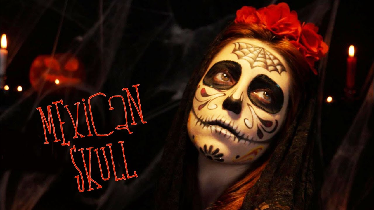 maquillage halloween mexican skull sugar skull youtube. Black Bedroom Furniture Sets. Home Design Ideas
