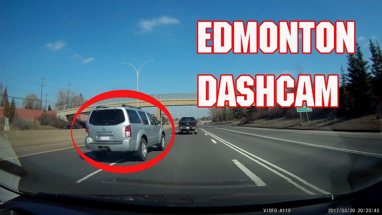 edmonton dashcam test apr 2017 bonus idiot youtube