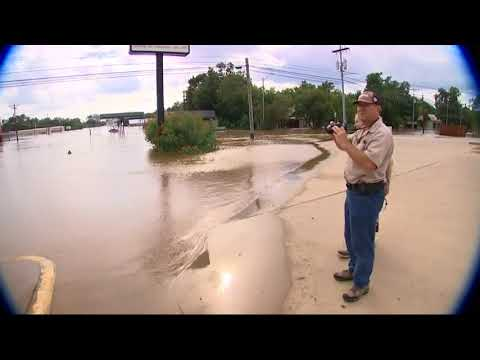 WUSA9 - #OffScriptOn9: La Grange see historic flooding from Harvey