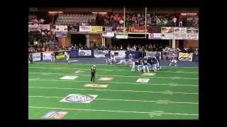 Donald Fusilier WR #9 Colorado Ice (IFL) Touchdown vs. Texas Revolution (IFL) (05/10/2014)