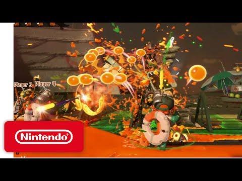 Splatoon 2 - Salmon Run Demonstration - Nintendo E3 2017