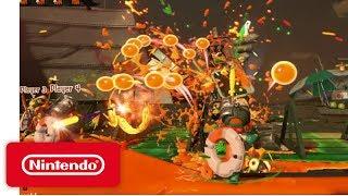 Splatoon 2 - Salmon Run Demonstration - Nintendo E3 2017 thumbnail