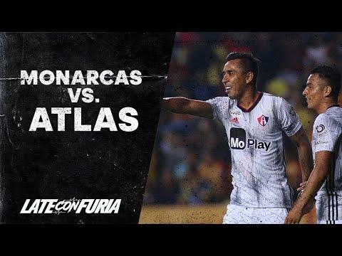 Resumen | Morelia 0 - 1 Atlas | Liga MX - Apertura 2019  - Jornada 2 | AtlasFC