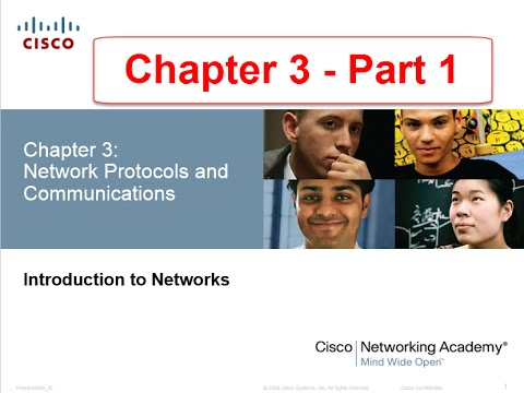 NETACAD Chapter 3 v5.0 Network Protocols and Communications Part 1