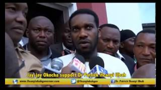 Jay jay Okocha ask anambrians to vote Ifeanyi Ubah