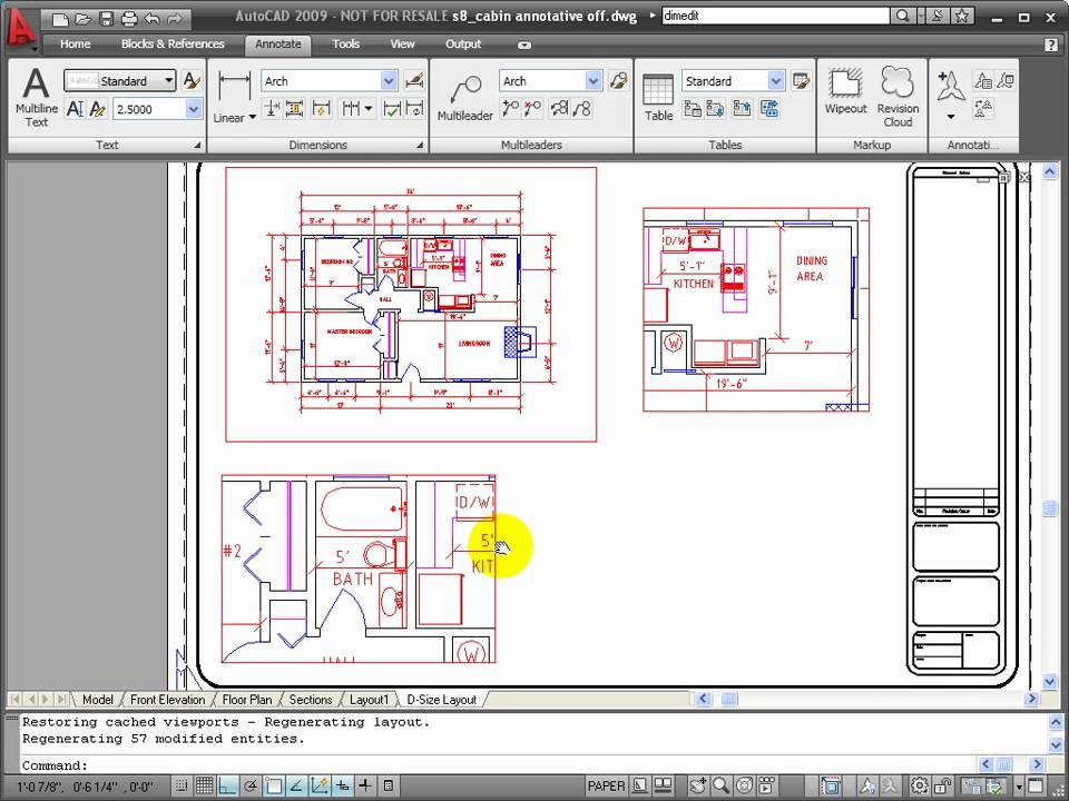 Autocad Tutorial Using Annotation Scaling Youtube