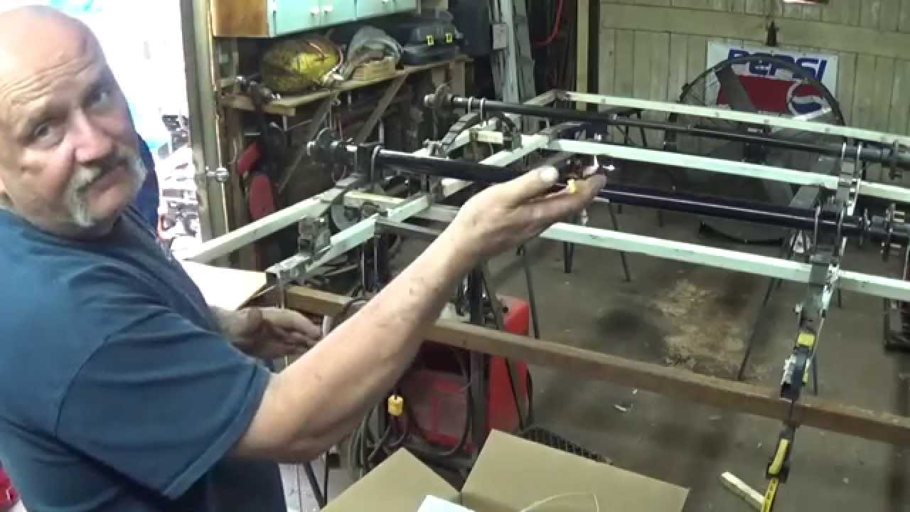 Tandem Trailer Build - YouTube