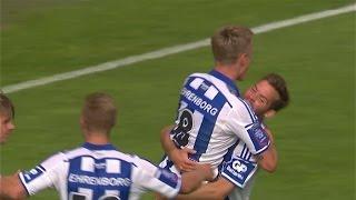 Höjdpunkter: Göteborg krossade Häcken med 4-0 - TV4 Sport