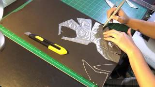 Batgirl Cowl Work Log pt1