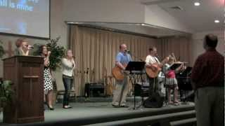 BRC Worship Team - Majesty (written by Martin Smith and Stuart Garrard) - 09/01/12