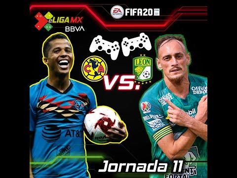 #eLIGAMX Jornada 11 - América Vs León