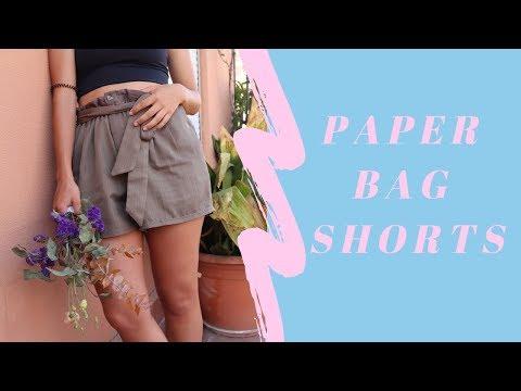 THRIFT FLIP | DIY PAPER BAG SHORT