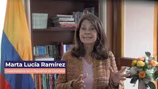 Marta Lucía Ramírez / Vicepresidente de Colombia