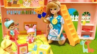リカちゃん あかちゃんハウス 保育園 / Licca-chan Doll Nursery School Playset thumbnail
