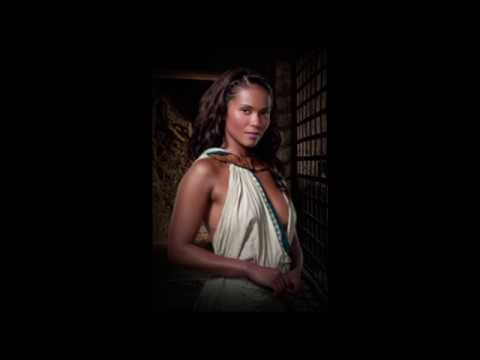 LesleyAnn Brandt as Naevia in Spartacus: Gods of the Arena 2011