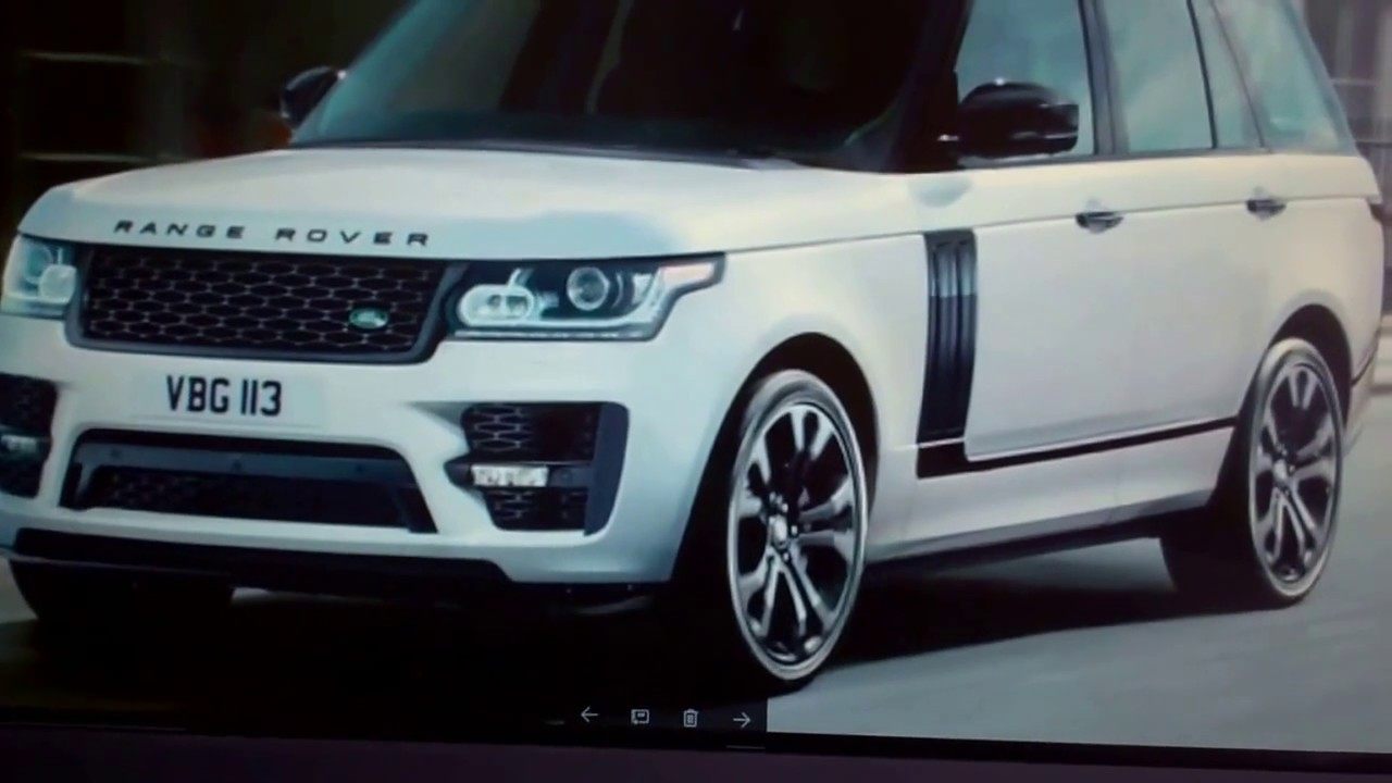2017 Land Rover Range Rover >> Range Rover L405 SVO Autobiography Bodykit unboxing - YouTube