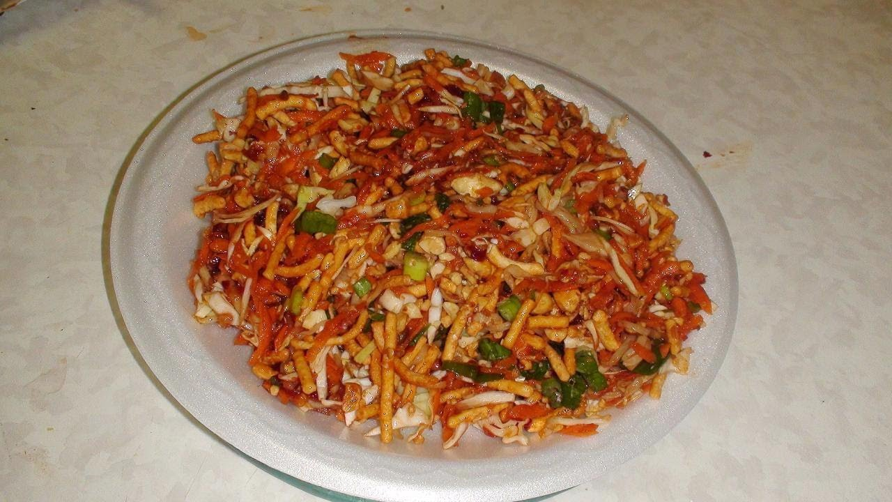 Chinese bhel recipe video fusion recipe by bhavna youtube forumfinder Choice Image