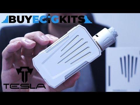 รีวิว บุหรี่ไฟฟ้า รุ่นใหม่ ยอดฮิต Tesla Invader 4X Kit