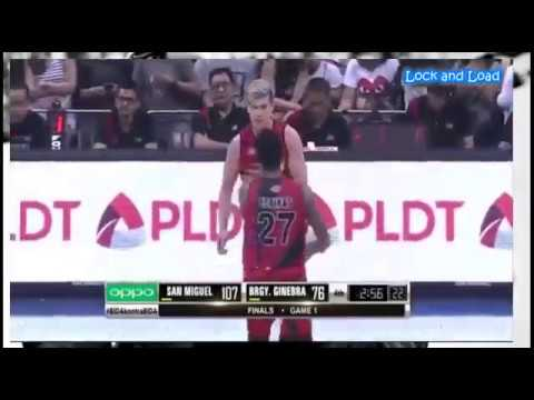 Arnold Van Opstal - SMB vs. GSM Game 1 Highlights - PBA Finals All-Filipino Cup [February 24, 2017]