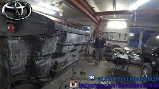 Реставрация Toyota Chaser Tourer.V (JZX-100) - Ремонт днища автомобиля ...
