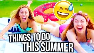 How To Have The Best Summer | Things to do AT HOME! | MyLifeAsEva