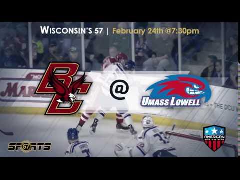 Boston College @ UMass Lowell | Feb. 24th | 7:30pm