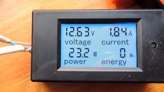 Ваттметр для контроля заряда - разряда аккумуляторов