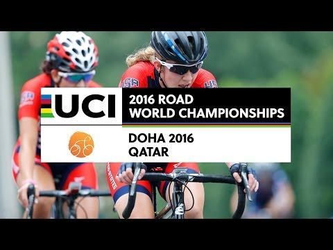 Women Juniors Road Race - 2016 UCI Road World Championships / Doha (QAT)