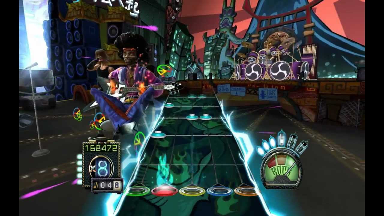 Voodoo child custom expert guitar hero 3 jimi hendrix stars hd hi def youtube - Guitar hero 3 hd ...