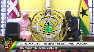Official Visit by the Queen of Denmark Her Majesty Queen Margrethe II