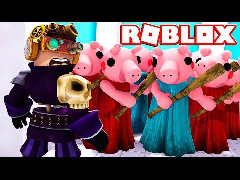 SCAPPIAMO DA 10 PIGGY TUTTI INSIEME SU ROBLOX!!