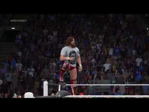 Download Roman Reigns vs Daniel Bryan No. 1 Contender Match Fastlane - WWE 2K15 Simulation