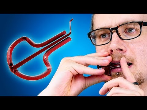 How NOT To Play The Jaw Harp | LOOTd Unboxing