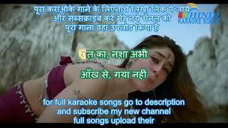 Download Video Raat Ka Nasha Abhi - Ashoka (2001) - Karaoke With Hindi Lyrics MP3 3GP MP4