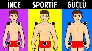 Vücut Tipiniz Hakkında Gerçekleri Ortaya Çıkarabilecek Bir Test