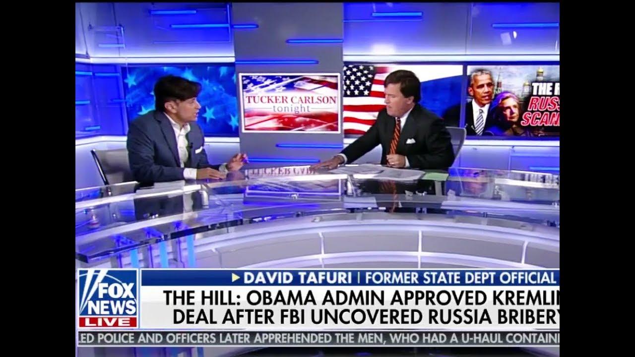 Tucker Carlson interviews David Tafuri on the \'Real Russia Scandal ...