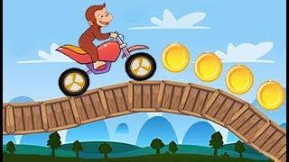 Jorge el Curioso - George Jungle Biking - Juegos Infantiles Para Niños