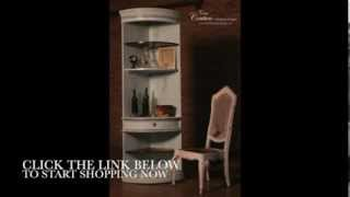 Casa Couture Presents: Blue Drexel Heritage Corner Shelf