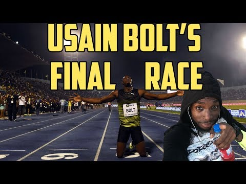 Usain Bolt's Final Race in Jamaica...Farewell Run..Racers Grand Prix 2017 (Vlog#23)