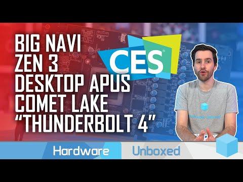 News Corner | AMD Talks Big Navi & Zen 3 (Briefly), Nvidia 360Hz G-Sync, Intel Comet Lake Teaser