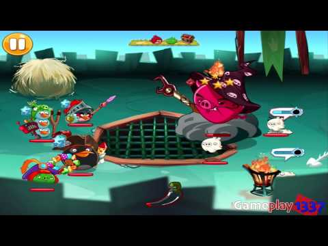 ANGRY BIRDS EPIC: Wiz Pig's Castle FINAL - Walkthrough for iPhone / iPad / Android #133